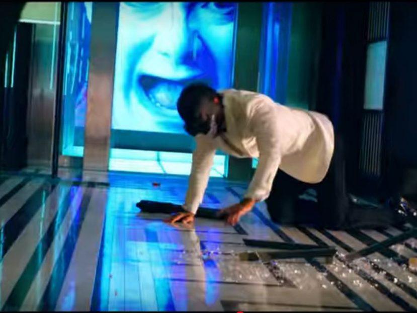 (Italiano) Pavimento nella scena del film 6 Underground